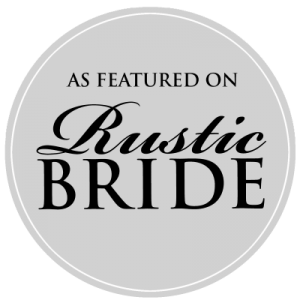 As Featured on Rustic Bride