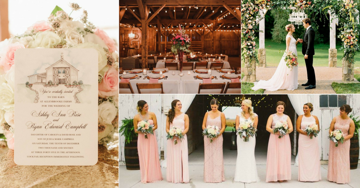 New Wedding Ideas 2018: Perfect Pink Rustic Wedding Ideas