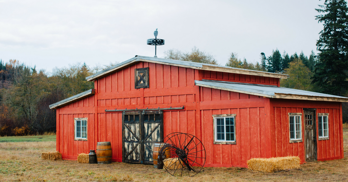 You Can Rent This Popup Red Barn for a Rustic Wedding in ...